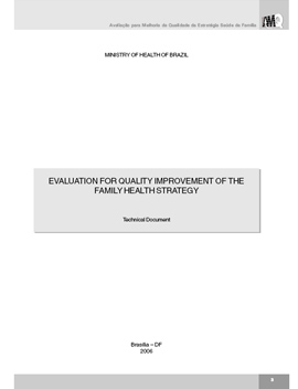 Evaluation for Quality Improvement of the Family Health Strategy
